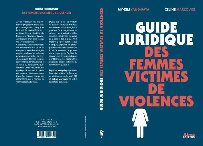 Couverture du guide juridique des femmes victimes de violences