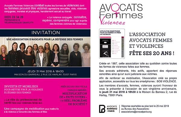 Présentation de l'application SOS Violences association avocat femmes et violences